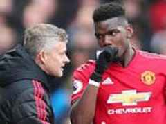 Manchester United's Paul Pogba praises Ole Gunnar Solskjaer as he launches jibe at Jose Mourinho