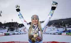 Lindsey Vonn - ski racer who transcended gender divide