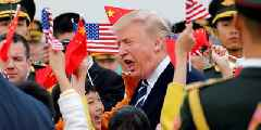 Global stocks bounce after Trump's softening stance on trade war 'music to the ears of the market'