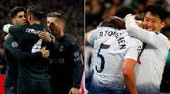 Spurs' Support Stars Step Up, VAR Assists Real Madrid in Champions League
