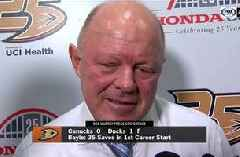 Interim coach Bob Murray says Ducks can 'build on' 1-0 win