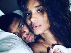 Russell Wilson & Ciara Cement Their Bond Amid Any Future Shade W/ Bedroom Pic