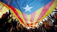 Catalan separatists stage mass protest in Barcelona