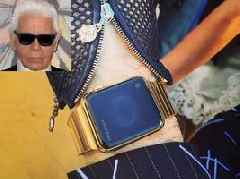 Apple once gifted Karl Lagerfeld with a custom $25,000 Apple Watch, but the fashion icon might have never set it up (AAPL)