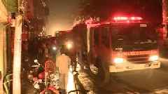 Multi-Building Fire Kills Dozens In Bangladesh