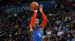 Russell Westbrook's Triple Double Streak Ends at 11, Paul George Seals Thunder Win