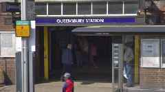 Queensbury Tube station: Man dies after attack