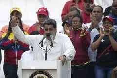 Venezuela's Maduro thanks military for defeating 'coup'
