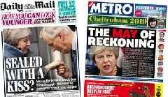Newspaper headlines: 'May of reckoning' for PM's Brexit deal
