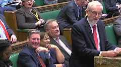 Brexit: Corbyn asks for PM's withdrawal agreement update