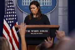 Vitriol and deflection: The return of the White House press briefing