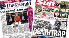 Scotland's papers: Brexit defeat and avalanche deaths