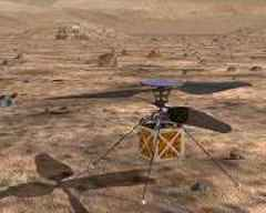 NASA is with you when you fly, even on Mars