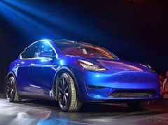 Elon Musk just unveiled Tesla's newest car, the Model Y SUV (TSLA)