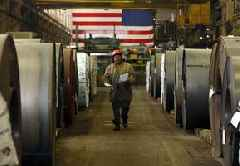 American manufacturing is in danger of entering a recession