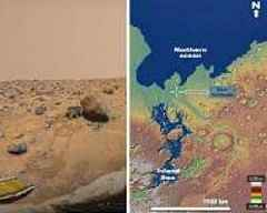 Pathfinder Rover May Have Explored Edges of Early Mars Sea in 1997