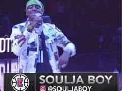 "Soulja Boy Shares Moments From His Clippers Halftime Show: ""I Had The Biggest Comeback"""