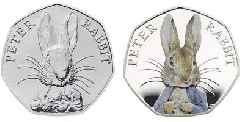 Rare Peter Rabbit 50p coins available NOW as collectors scramble for them