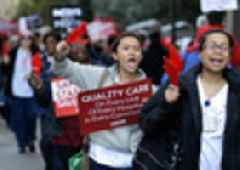 NY Nurses Say A Strike Is Needed To Keep Patients Safe