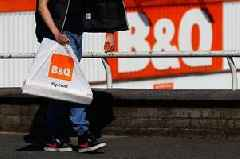 B&Q owner reveals 15 stores could shut down just months after Homebase closures