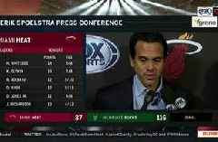 Erik Spoelstra says Bucks' ability to take away paint made life difficult for Heat
