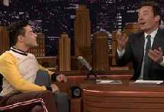 Jimmy Fallon Can't Hide His Disgust after Rami Malek Touches His Hand