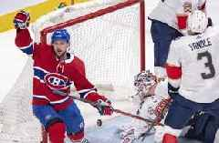 Tomas Tatar lifts Canadiens past Panthers 6-1