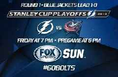 Preview: Lightning look to even up series in Game 2 vs. Blue Jackets