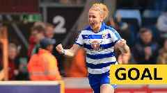 Women's FA Cup: Rachel Furness heads in Reading's opening goal against West Ham