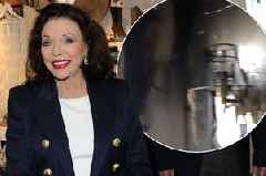 Joan Collins fire horror as 'terrifying' blaze ravages home