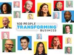 INTRODUCING: The 100 people transforming business