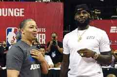 Nick Wright says the only thing holding the Lakers back from hiring Ty Lue are the optics around LeBron James