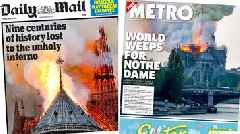 The Papers: 'World weeps' after Notre Dame blaze