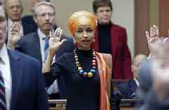 Trump Again Attacks Ilhan Omar for Being 'anti-Semitic' and 'anti-Israel,' Claims She Controls..