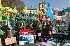 Eco-activists from Gloucestershire arrested after Extinction Rebellion protest in London