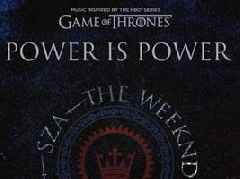 """SZA, Travis Scott + The Weeknd Unite For New GAME OF THRONES """"Power Is Power"""" Song"""