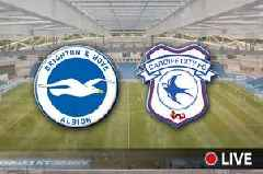 Brighton v Cardiff City Live: Latest team news and updates from big Premier League relegation clash