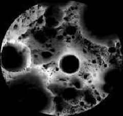 Moon's South Pole in NASA's Landing Sites