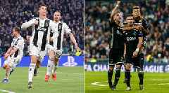 LIVE: Juventus, Ajax Battle for Place in Champions League Semifinals