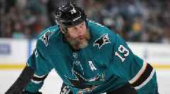 Sharks Forward Joe Thornton Suspened One Game After Illegal Hit vs. Golden Knights
