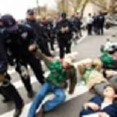 Over 60 Climate Change Activists Arrested In NYC 'Die-In'