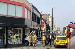 Croydon accident: Woman believed to have had 'medical episode at wheel' in shop crash