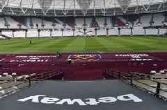 West Ham on track with London Stadium revamp as new claret carpet installed