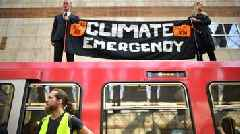 Extinction Rebellion: Charges over climate change train protest