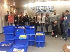 Guaranteed Removals Collects Record Amount of Food in Second Annual Food Drive Donating over 1,200 lbs