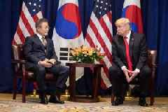 South Korean President Moon has a message for Kim Jong Un from Trump, sources say