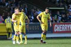 Graham Coughlan tips Bristol Rovers star Ollie Clarke for Championship football after fine goal in AFC Wimbledon draw
