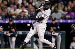 Charlie Blackmon walks off in 12tth inning with huge home run