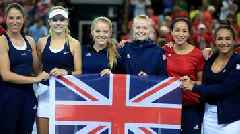 Fed Cup: GB captain 'in awe' of Johanna Konta & Katie Boulter after promotion