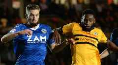 Macclesfield Town v Newport County